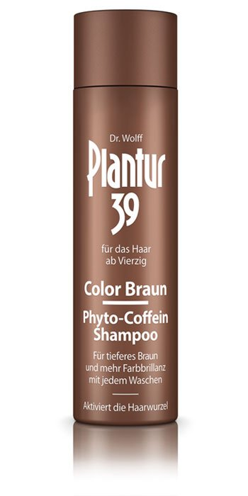 Plantur39 Color Braun Phyto Coffein Shampoo 250 Ml Alcina Haircare