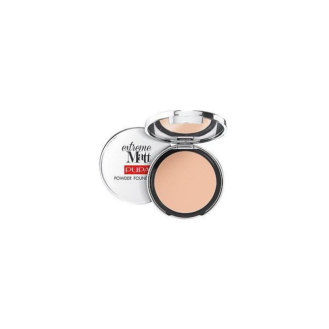 PUPA Extreme Matt Compact Foundation 020 Light Beige