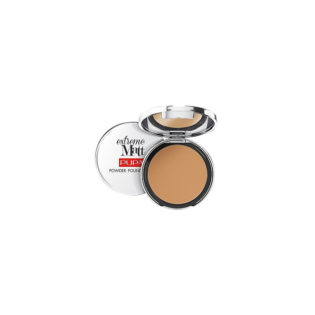 PUPA Extreme Matt Compact Foundation 070 Sandy Brown