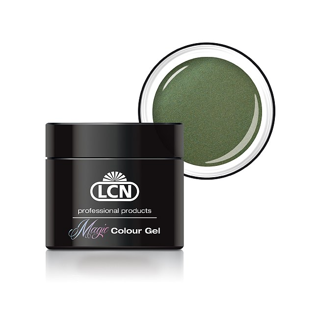 LCN Color Gel Magic Colour 5 Galaxy Green