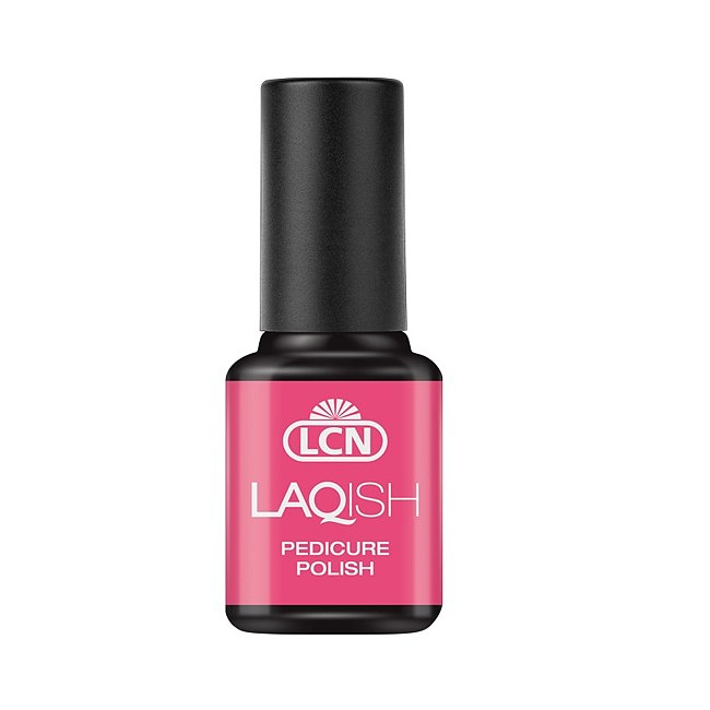 LCN Laqish Pedicure Nagellack 25 crazy like a pink flamingo