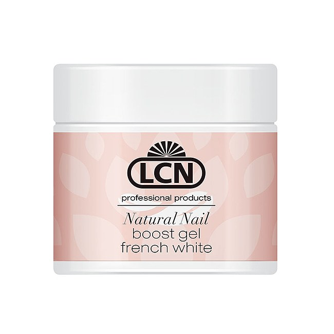 LCN Natural Nail Boost Gel French White