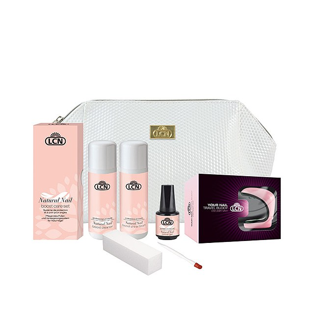 LCN Nail Boost Travel Set mit LED Lichtgerät