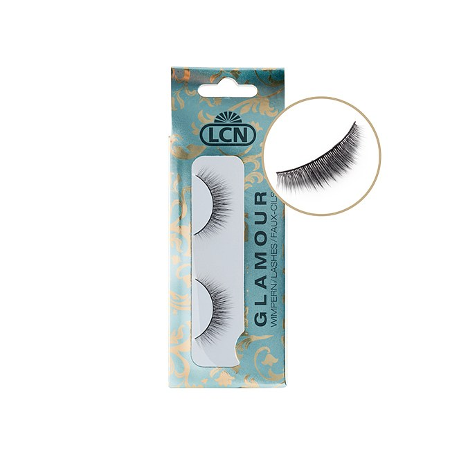 LCN Lashes GLAMOUR Natural mit Kleber