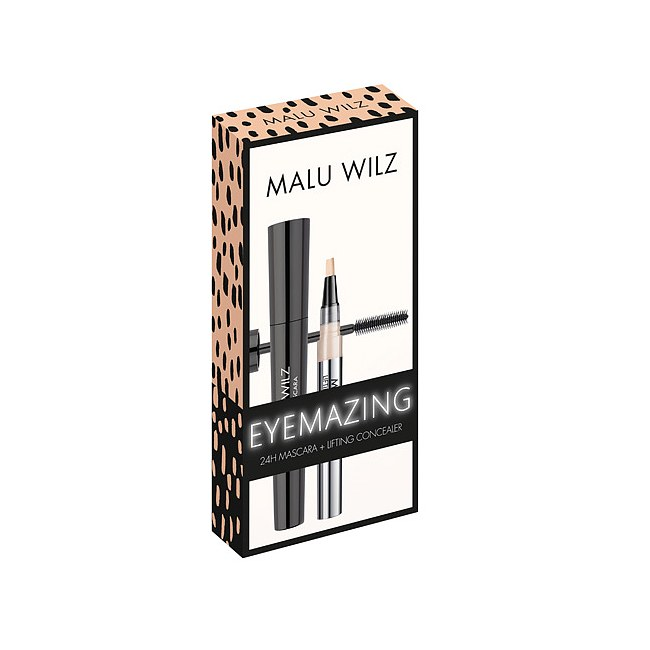 MALU WILZ Eyemazing 24H Mascara & Lifting Concealer Set