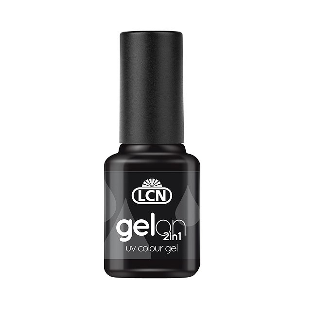 LCN GelOn 2in1 UV Colour Gel NAB Black