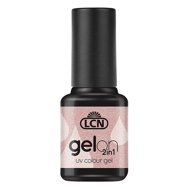 LCN GelOn 2in1 UV Colour Gel Natural Nude Glimmer