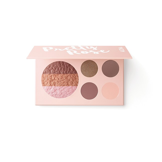 ALCINA Pretty Rose Palette Blush & Eye Shadow