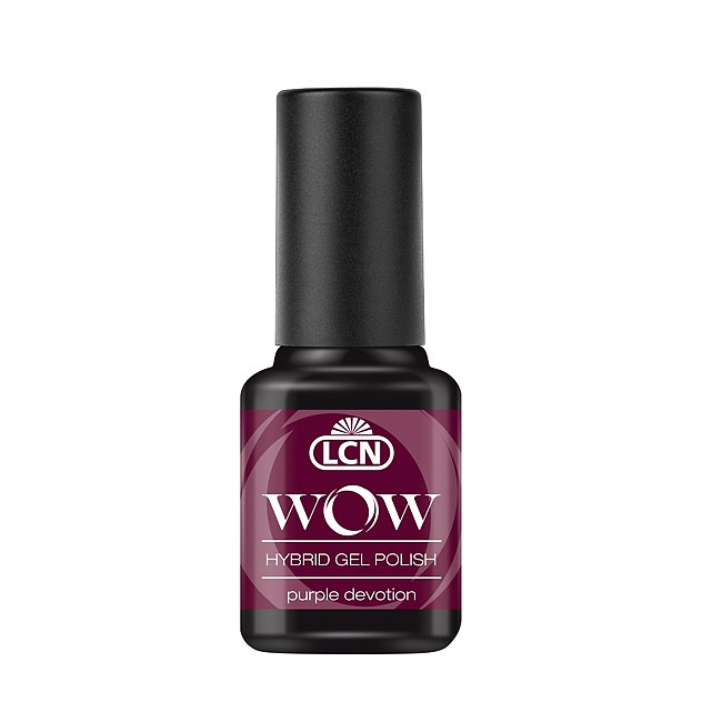 LCN WOW Hybrid Gel Polish 10 Purple Devotion