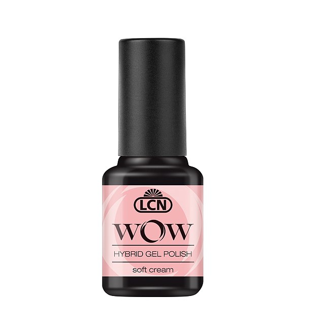 LCN WOW Hybrid Nail Polish 03 Soft Cream