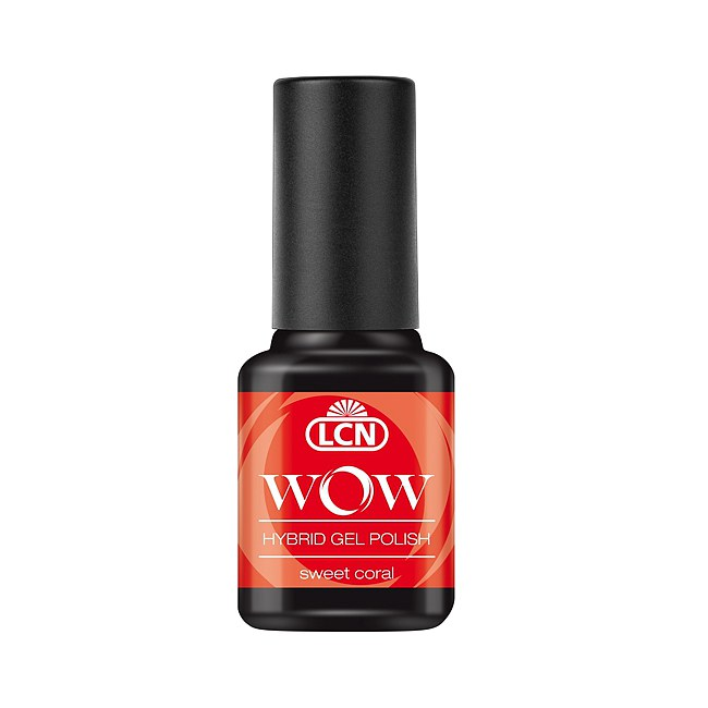 LCN WOW Hybrid Gel Polish 06 Sweet Coral