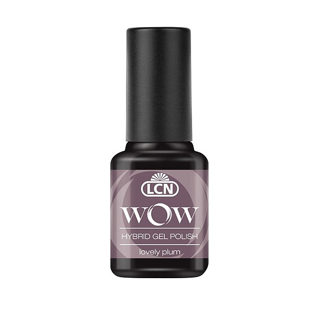 LCN WOW Hybrid Gel Polish 28 Lovely Plum