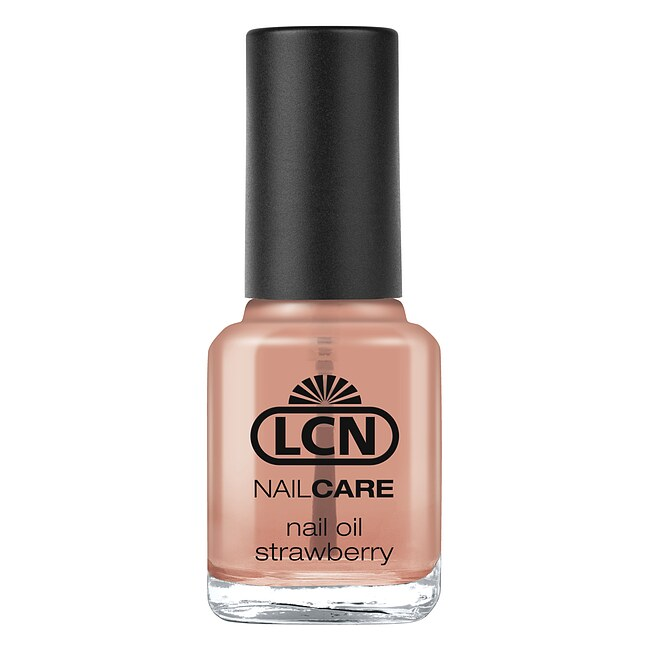 LCN Nail Oil Soft Ice Strawberry