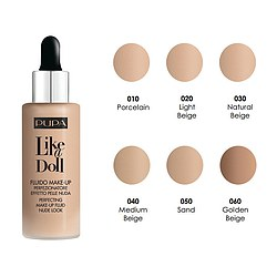 PUPA Like a Doll Fluid Foundation SPF 15 Oilfree