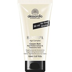 alessandro Cream Rich 100 ml + GRATIS 50 ml