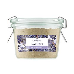 La Nature Bade Puder Lavender