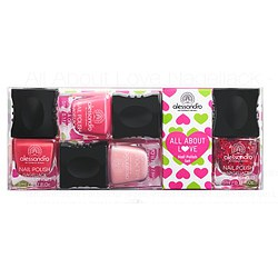 alessandro All About Love Nail Polish Set