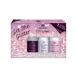 alessandro Striplac Peel or Soak Get the Glitter Set