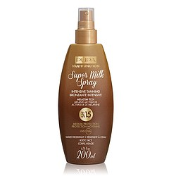 PUPA SUN Super Milk Spray Intensive Tanning SPF 15