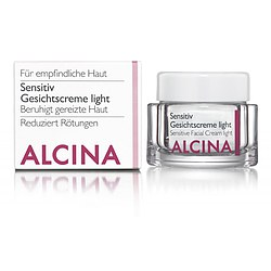 ALCINA Sensitiv Gesichtscreme LIGHT unparfümiert 50 ml
