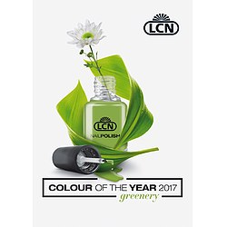 LCN Nagellack Greenery - Farbe des Jahres 2017