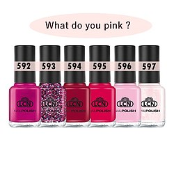 LCN What do you pink Nagellack