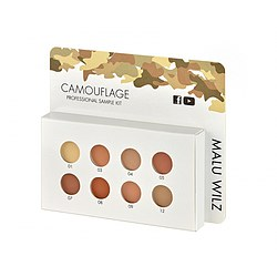 MALU WILZ Camouflage Sample Kit - 8 Farben