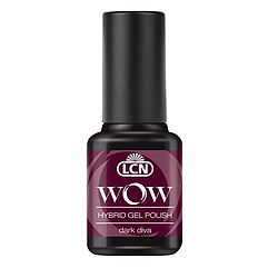 LCN WOW Hybrid Gel Polish 25 Dark Diva