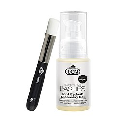 LCN 2in1 Eyelash Cleansing Gel mit Bürstchen