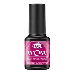 LCN WOW Hybrid Nagellack 592 pink up your shimmer